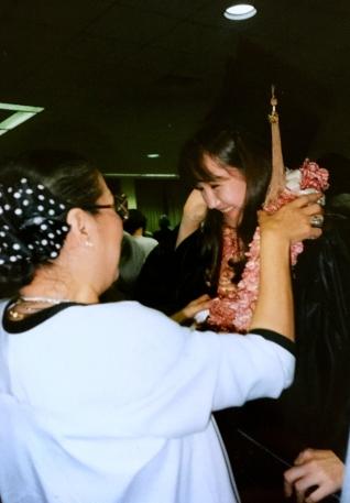 18. Jan's Langston Graduation, 1993