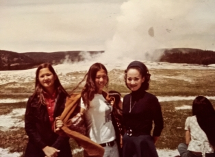 19. Yellowstone, Old Faithful, and Jackson Hole, 1973