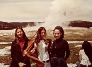 19. Yellowstone, Old Faithful, and Jackson Hole, 1973